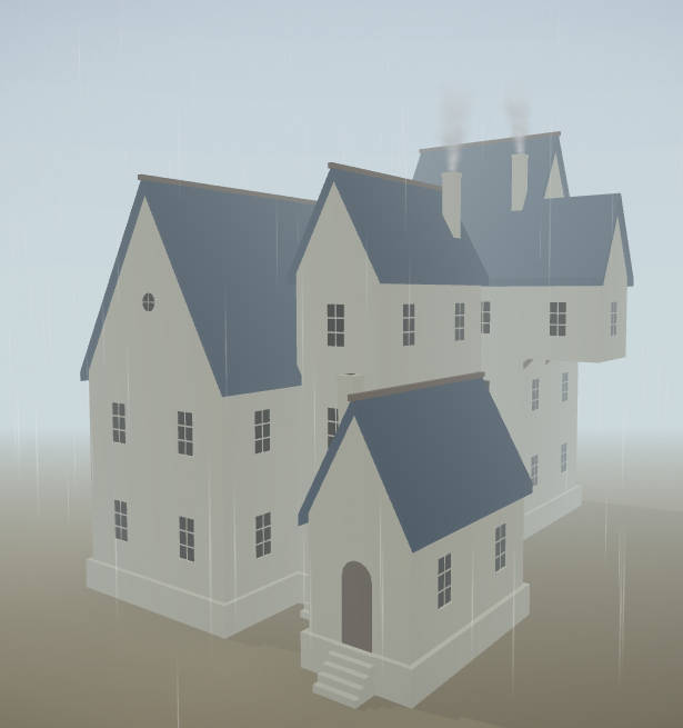 Demo of Watabou Procedural Mansion maker free fantasy map tool for horror game master
