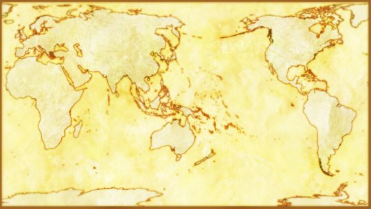 whole-Earth-with-Rivers-robinson-pacific-center-old-map-style