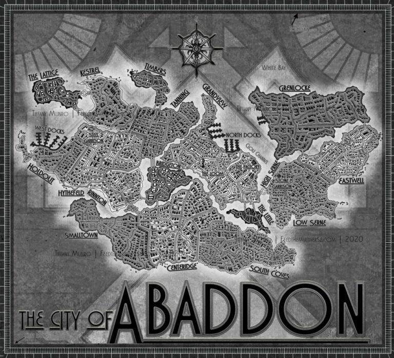 The City of Abaddon Art Deco Blades in the Dark Campaign Setting